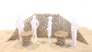Nuovi materiali per l'edilizia: due tipologie di sabbia artificiale