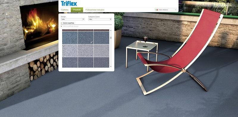 Configuratore per balconi Triflex