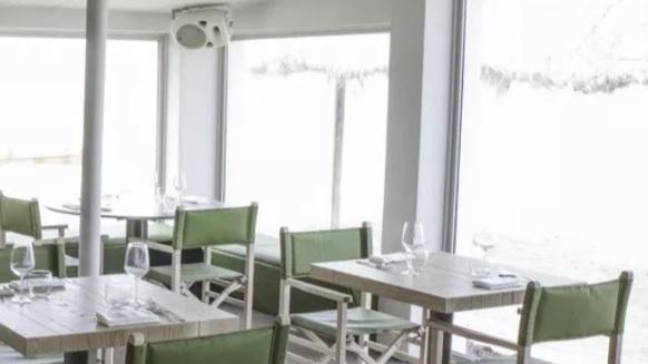 L'interno del ristorante di Fabrizio Sacco