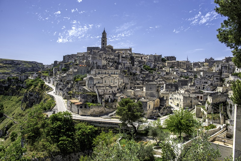 Matera, sito Unesco e zona franca urbana.