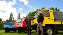 Destinazione India per OX, il camion smontabile del duo Norman-Murray