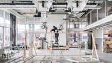 Robotica e progettazione in legno: Spatial Timber Assemblies