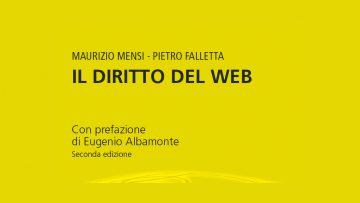 Il diritto del web nel nuovo manuale aggiornato