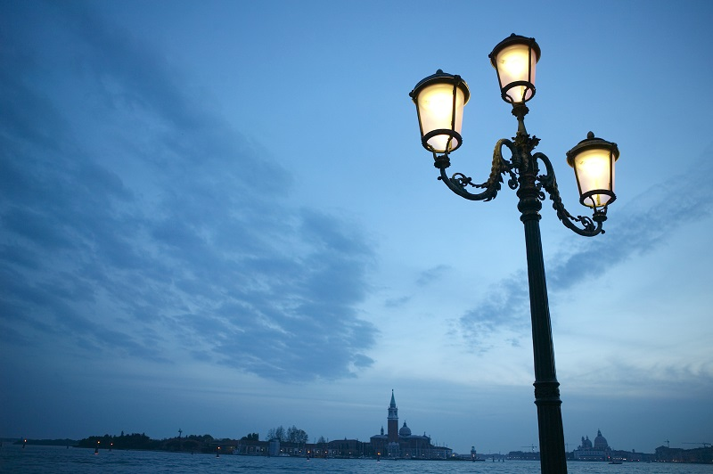Lampioni antichi e Venezia