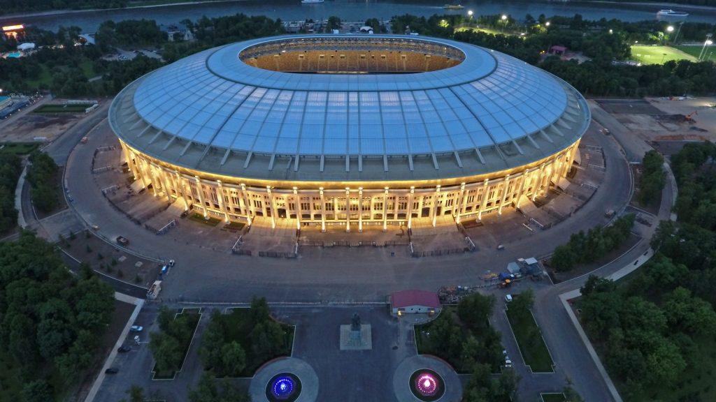 Luzhniki Stadium, Mosca © Government of Moscow press centre via StadiumDB/giugno 2017