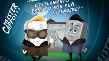 Mister Cappotto è online: arriva la prima miniserie sull'isolamento termico