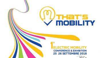 Tutto sulla mobilità elettrica a That's Mobility