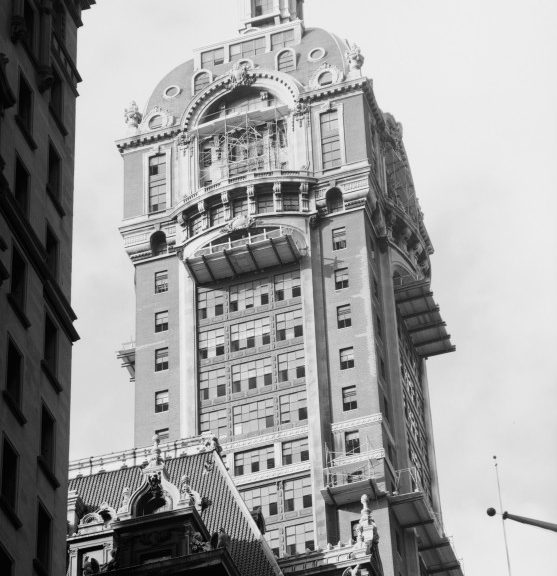 Singer Building, New York City, 187 m (1908-1968) © Public Domain via CTBUH