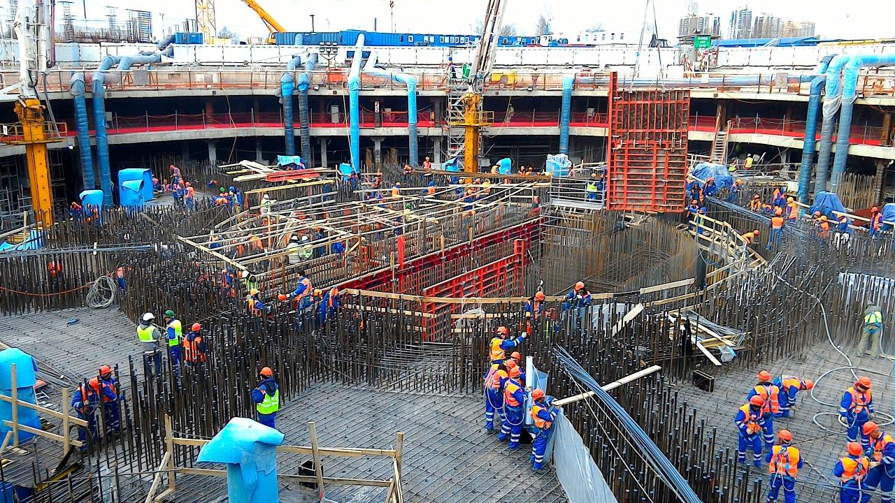 2 - Lakhta Center - fasi costruttive - fondazioni - courtesy Lakhta Center