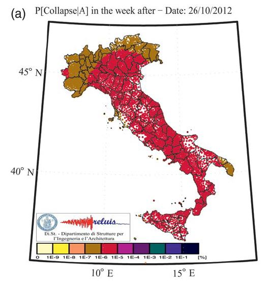 Operational (Short-Term) Earthquake Loss Forecasting in Italy - Bulletin of the Seismological Society of America, Vol. 105, No. 4, pp. 2286–2298, August 2015
