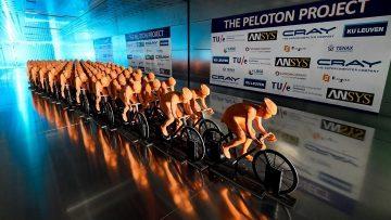 Il supercomputer svela la posizione ideale del ciclista