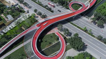 Ingegneria e arte: il Ruyi Bridge a Chengdu in Cina, un focus strutturale