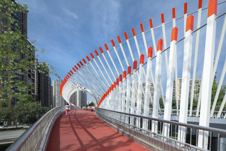 Ruyi Bridge - vista percorso Line A - courtesy Archdaily