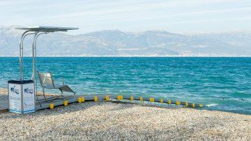 Ingegneria e diverse abilità: dalla Grecia l'idea per la piena accessibilità in spiaggia
