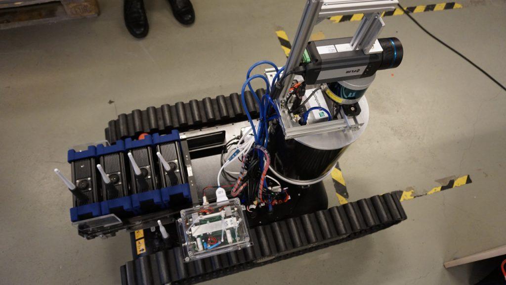 SmokeBot è un progetto sviluppato da un gruppo di ricerca guidato dall'Università di Örebro