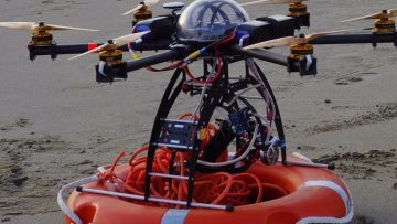 Sicurezza in mare, ecco i droni bagnino del Sea Drone Tech Summit