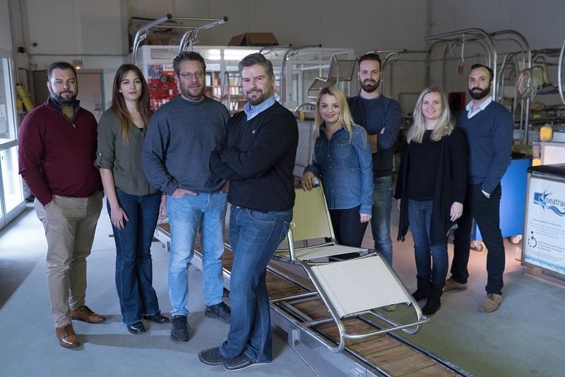 Il gruppo di lavoro del Seatrac Tobea