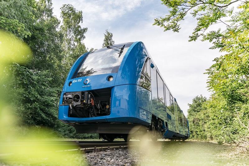 Il treno ad idrogeno della Alstom operativo in Germania © René Frampe