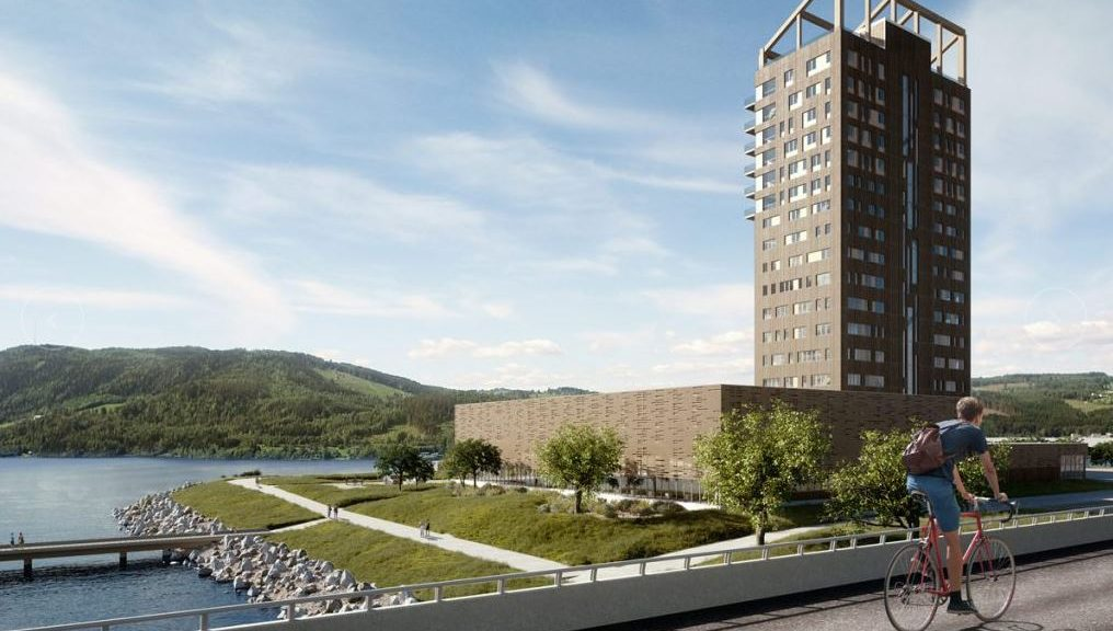 Mjøsa Tower - courtesy of Voll Arkitektur