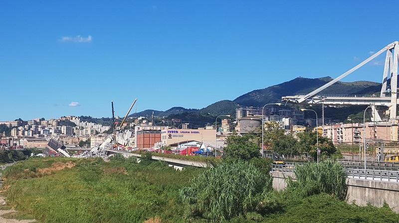 I resti del Ponte Morandi - Copyright Katherine Smale (ICE)