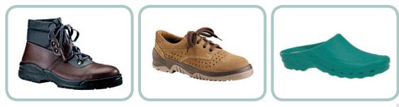Tipi di calzature antinfortunistiche