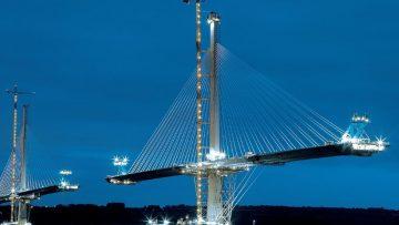 Queensferry Bridge, la sfida progettuale del ponte strallato scozzese