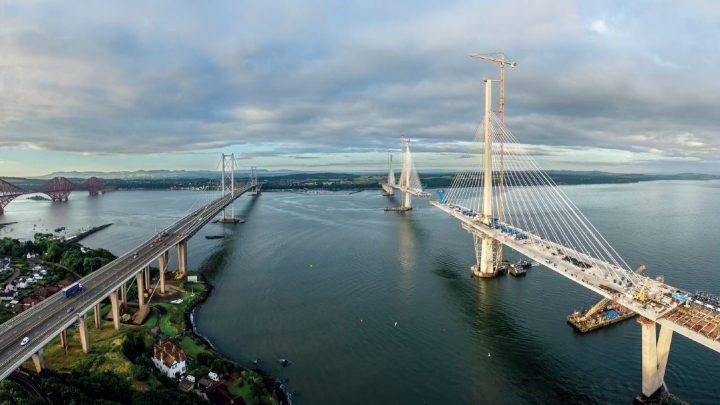 Il Queensfery Bridge è uno dei più grandi progetti infrastrutturali del Nord Europa