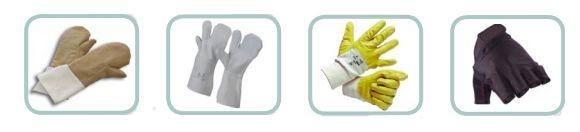 Tipologie di guanti protettivi