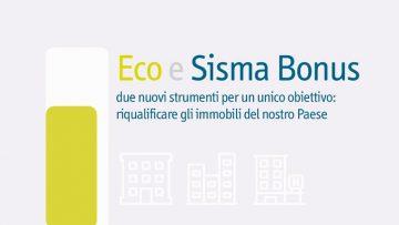 Ecobonus e Sismabonus, parte la campagna della filiera dell'edilizia