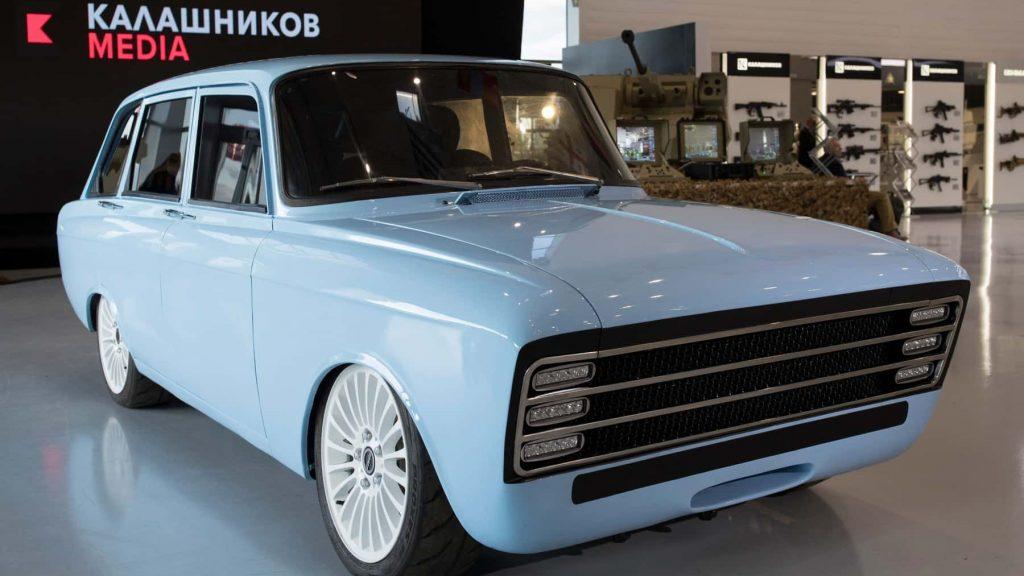 La concept car elettrica targata Kalashnikov  (fonte en.kalashnikov.media)