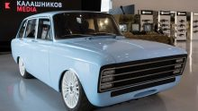 Kalashnikov: non solo mitra, arriva l'auto elettrica