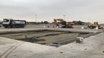 Calcestruzzo a presa rapida: lavori in fast lane per il Marconi di Bologna
