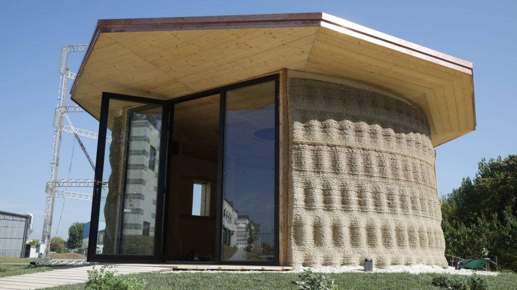 Gaia, il modello di casa stampata in 3D con la tecnologia Crane Wasp