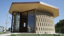 La casa stampata in 3D è anche ecosostenibile e si chiama Gaia