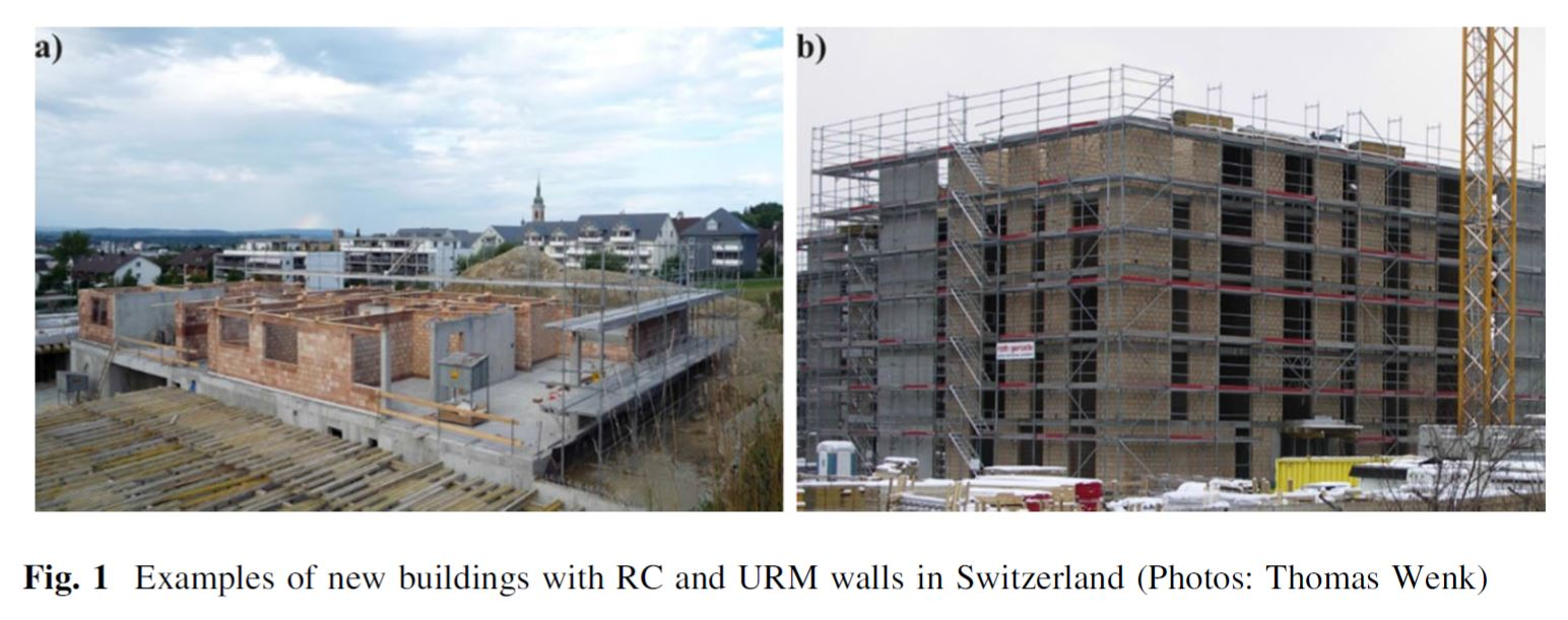 """Dynamic testing of a four-storey building with reinforced concrete and unreinforced masonry walls: prediction, test results and data set"" di K. Beyer, M. Tondelli, • S. Petry, S. Peloso"