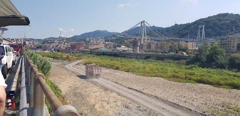 Ponte Morandi, Genova. Foto di Katherine Smale