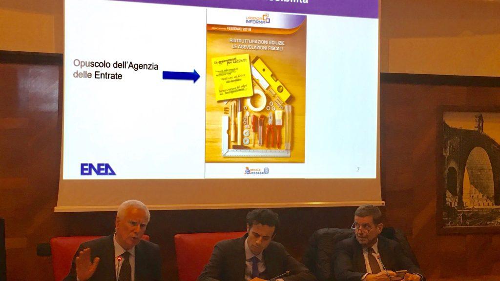 La presentazione del nuovo portale ENEA dedicato alle richieste di detrazioni fiscali