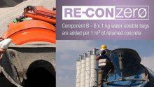 Calcestruzzo sostenibile: i nuovi prodotti RE-CON di Mapei