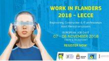 Ingegneri cercansi: lavorare in Belgio passando da Lecce