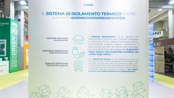 Mapei a Klimahouse 2019 presenta i suoi prodotti certificati per il risparmio energetico