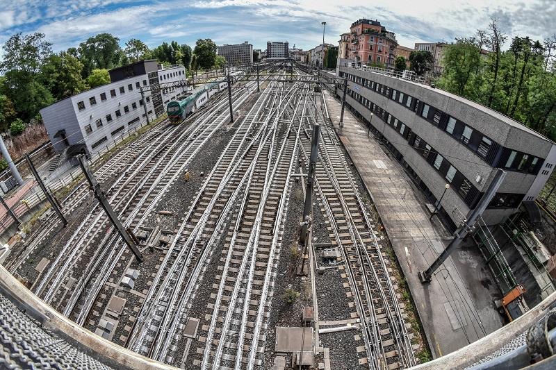 ferrovia a milano