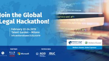Legal technology: arriva il Global Legal Hackathon 2019