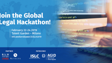 Legal technology: arriva il Global Legal Hackathon 2019