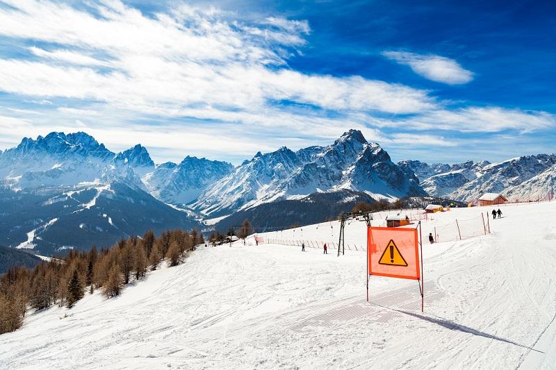 sicurezza sulle piste da sci