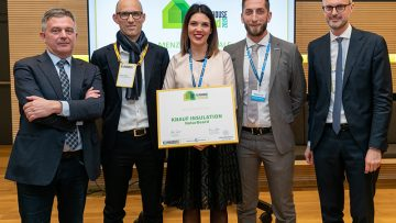Sistemi isolanti: fra i vicintori dei Klimahouse Trend 2019 c'è Knauf Insulation