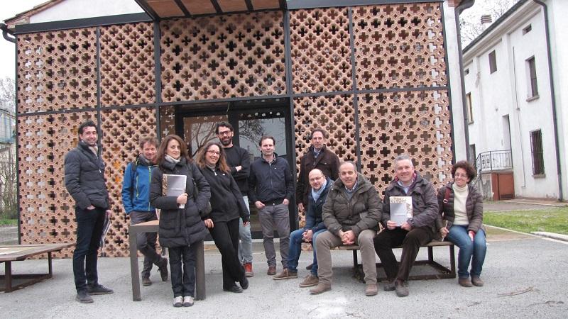 Alcuni componenti del  Network CasaClima Verona